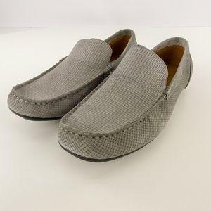 Alfani Mens Kendric Textured Driver Loafer